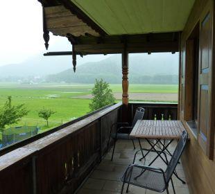 Balkon Bio-Bauernhof Zacherlhof