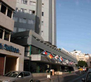 Aussenansicht Hotel Metropolitan