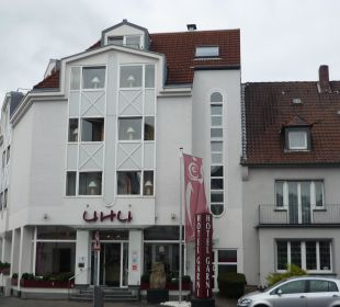 Eingangsbereich des Hotels Hotel Uhu Köln