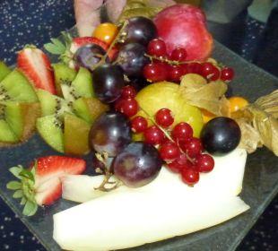 Frisches Obst zur Begrüßung Hotel Schloss Schweinsburg