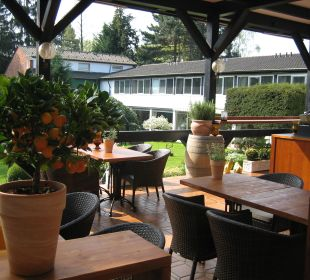 Terrasse Restaurant Hotel Haus Litzbrück