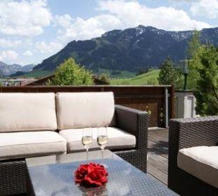 Mountain View Lounge Landhaus Sammer Hotel Garni