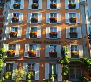 Fassade im Sommer Hotel Deutscher Kaiser im Centrum