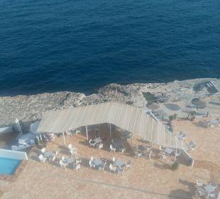 Terrasse vom Spa aus gesehen JS Hotel Cape Colom