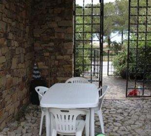 Ausblick, Eingangstor Sardafit Ferienhaus Budoni