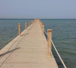 Langer Steg am Strand