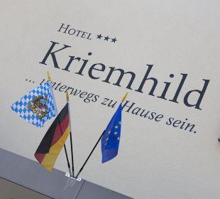 Ausßenansicht Hotel Kriemhild am Hirschgarten