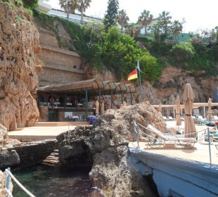 Traumhafte Badeplattform Hotel Divan Antalya Talya
