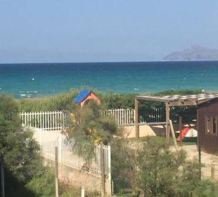 Ausblick vom Balkon am Tag allsun Hotel Eden Playa