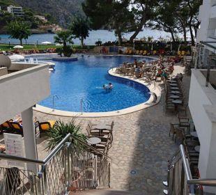 Blick zum pool  Olimarotel Gran Camp de Mar