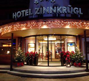 Weihnachtliches Ambiente Hotel Zinnkrügl