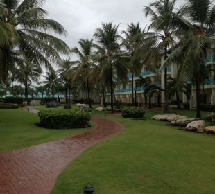 Gartenanlage Dreams La Romana Resort & Spa