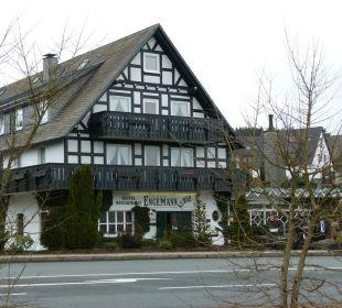 Vorderansicht Hotel Engemann Kurve