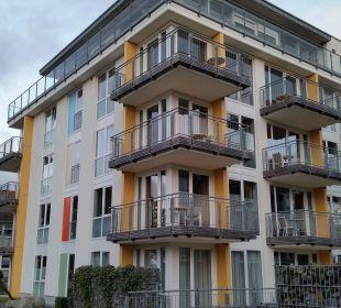 Aussenansicht  Aparthotel Duhner Strandhus