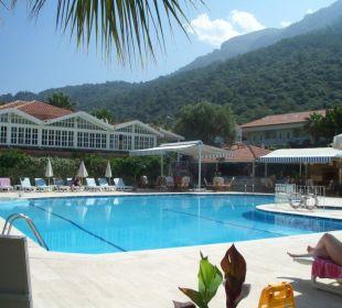 Am Pool Blue Lagoon Hotel Oludeniz