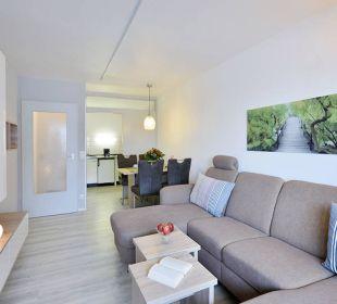 Wohnzimmer Komfortappartement Die Gams Hotel - Resort