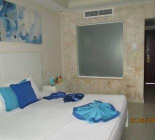Bluick in unser Zimmer Hotel Vista Sol Punta Cana