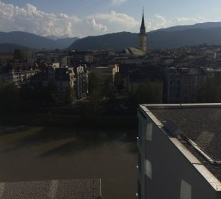 Ausblick aus Zimmer Hotel Holiday Inn Villach