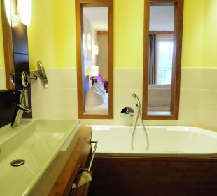 Badezimmer in der Stemp-Suite Landhotel Stemp