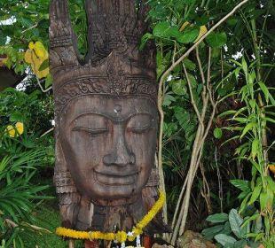 Figur im Garten Na-Thai Resort Hotel Na Thai Resort