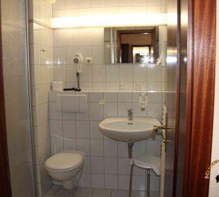 Zimmer 30 - Das Badezimmer Best Western Hotel Hanse-Kogge