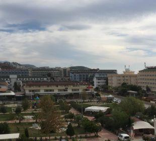Sicht vom Zimmer aus Hotel Titan Select