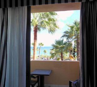 Blick auf den Balkon Hotel H10 Tindaya