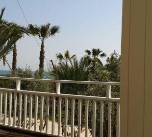 Blick wenn man an der Beachbar sitzt Hotel Alba Royal