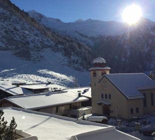 Blick auf den Gletscher Hotel Klausnerhof