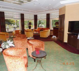 Bereich Fernsehecke Romantischer Winkel SPA & Wellness Resort