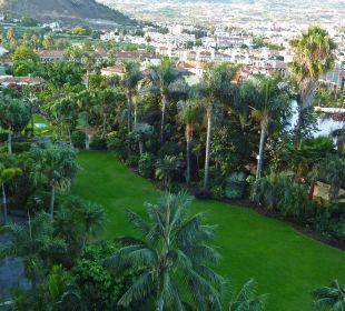 Blick aus dem Zimmer  Hotel Tigaiga