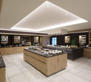 Neuer Buffetraum DolceVita Hotel Feldhof