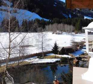 Forellenteich Alphotel Tyrol