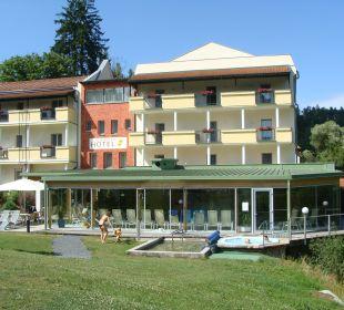 Whirlpool im Freien zum Relaxen Wohlfühlhotel Liebnitzmühle