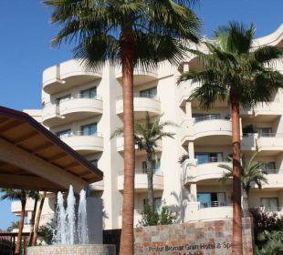 Biomar Gran Hotel Eingang