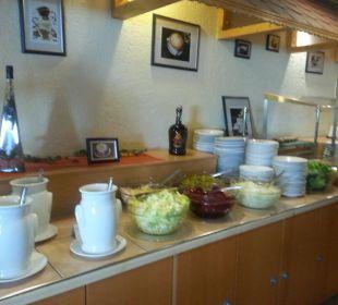 Salatbar Hotel Margeritenhof