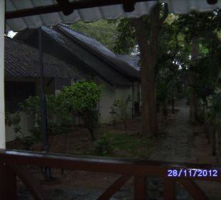 Zimmerausblick Hotel Pattaya Garden