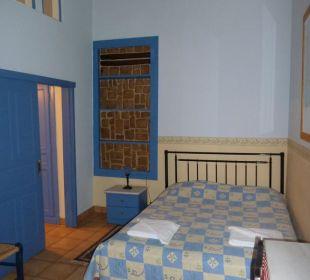 Teil des Familienzimmers Hotel Omorfi Poli