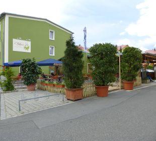 Ein toller schöner Biergarten  Hotel-Gasthof-Fellner