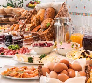 Frühstücksbuffet Travel Charme Ostseehotel Kühlungsborn