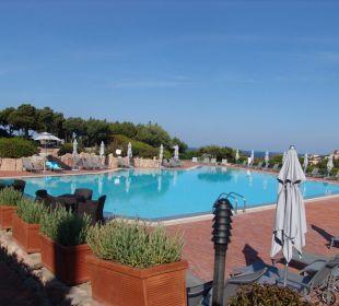 Pool Grand Hotel in Porto Cervo