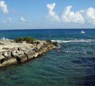 Künstliche Lagune Ausgang zum Meer Occidental at Xcaret Destination