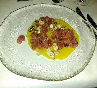 Thunfisch Tartar Ikos Olivia