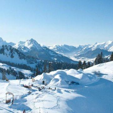 Iglu-Dorf Gstaad
