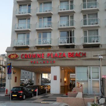 Hotel Crowne Plaza Tel Aviv Beach