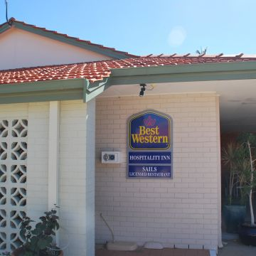 Best Western Hospitality Inn Motel
