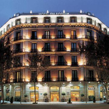 NH Barcelona Podium