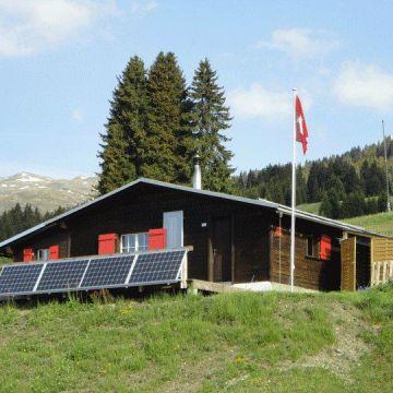 Maiensäss Alphütte Tegia Sulai
