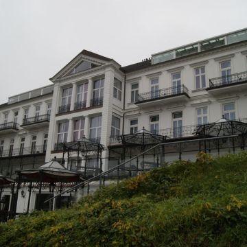 Das weisse Hotel an der Elbchaussee