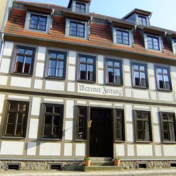 Hotel garni Alte Warener Zeitung